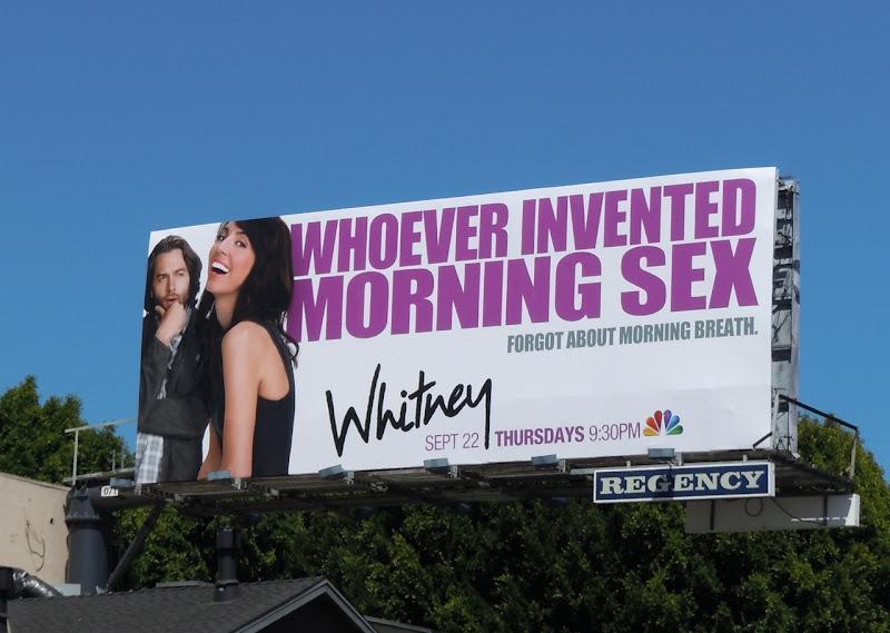 Whitney Morning Sex billboard