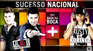 João Lucas e Diogo Part. Mc Koringa - Água na Boca
