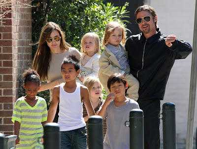 actress angelina jolie kids