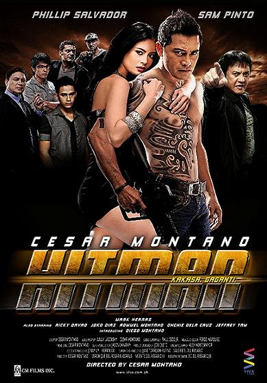 Hitman Movie Poster - Cesar Montano & Sam Pinto