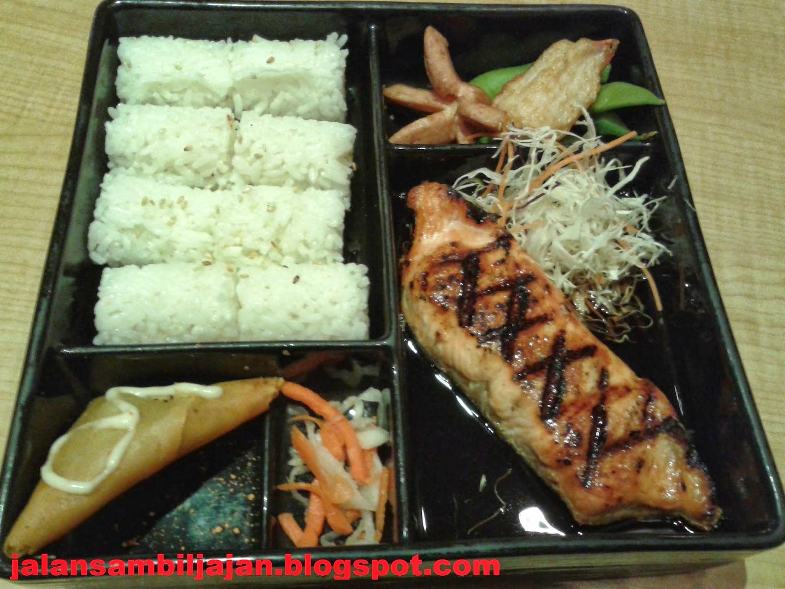 Salmon Teriyaki Bento Bentoya