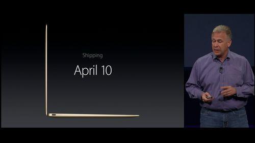 Shipping April 10