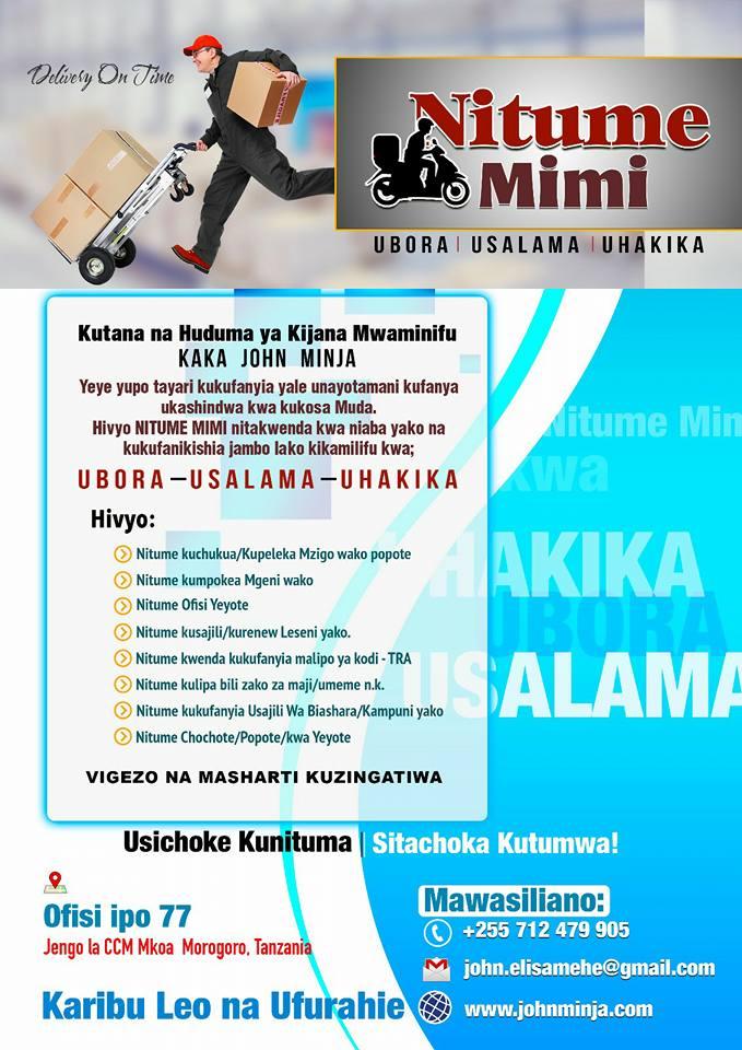 NITUME MIMI SERVICES