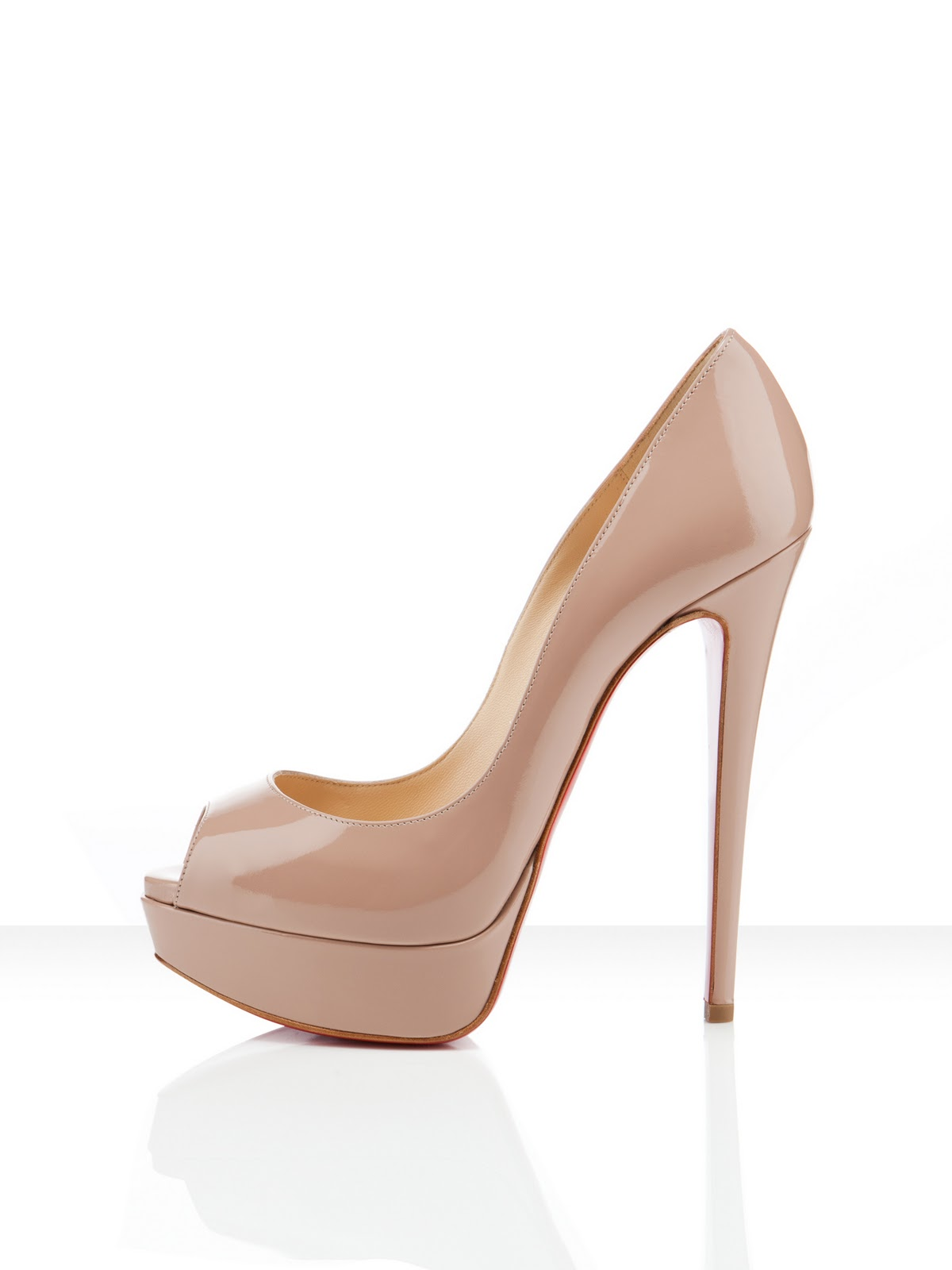 Christian Louboutin granate
