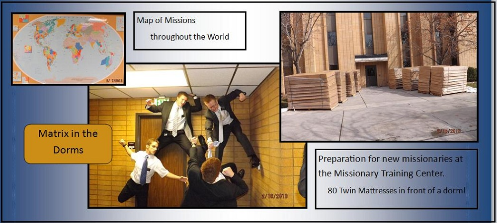Having Fun in the Missionary Training Center Feb. 16, 2013