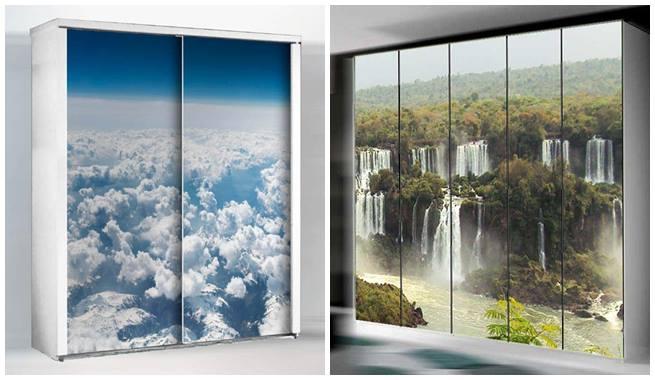 Bricolage e decora o decora o de portas arm rios - Decorar puertas de armario ...