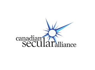 Logo for Canadian Secular Alliance.