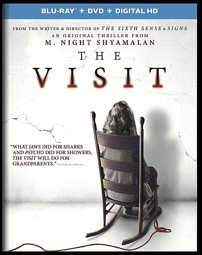 The Visit Blu-ray cover