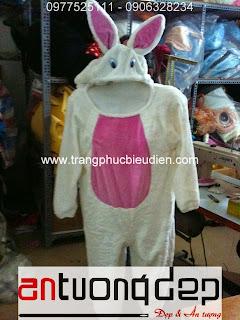 cho thuê trang phục con thỏ