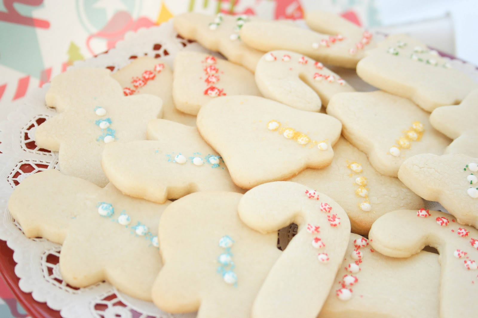 ... from the TV to tell you about these Cut-Out Christmas Sugar Cookies