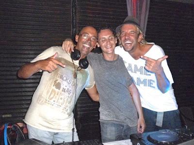 DJs Pablo Escobud Darragh Casey Marco Loco