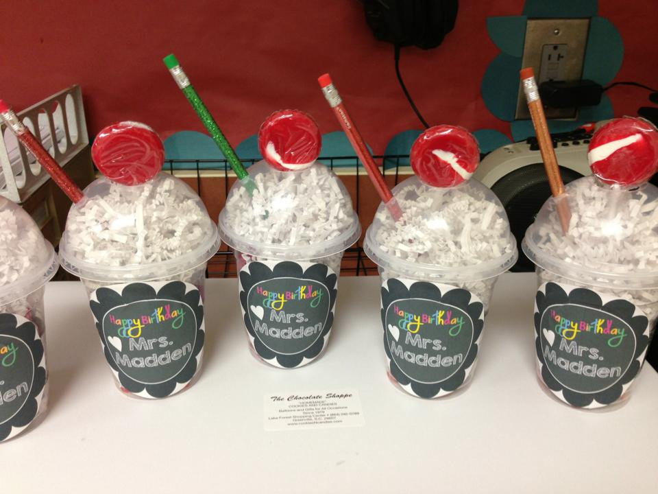 Classroom Birthday Party Treat Ideas ~ Wrapping up week one susannah did it first teaching