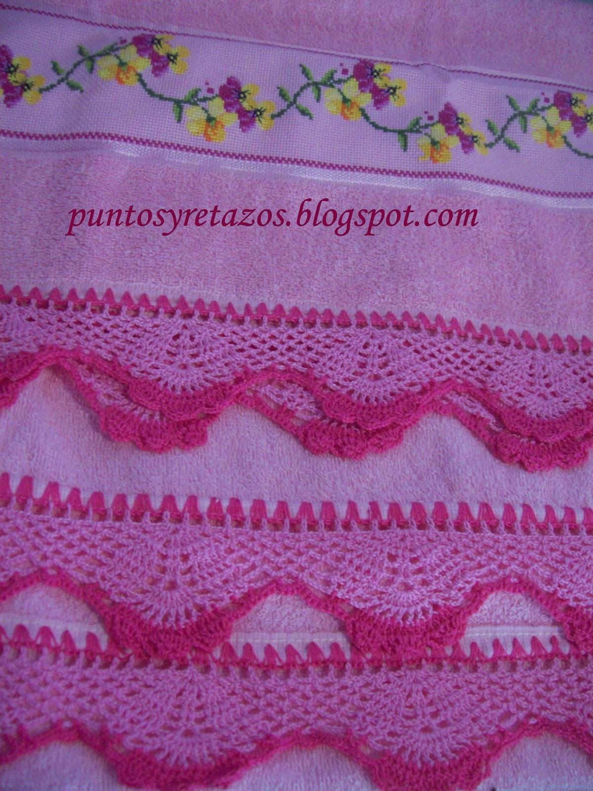 Orillas Crochet Para Manteles Paso Mapa