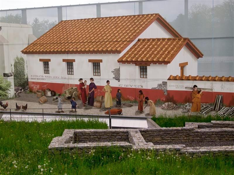 Augusta Raurica - Casas
