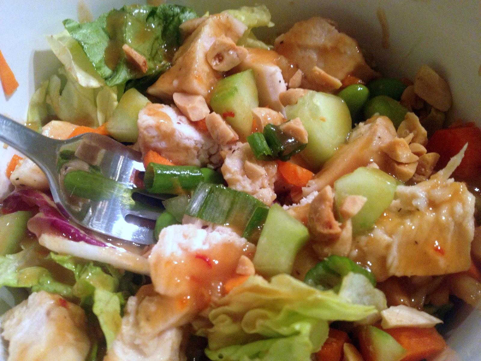 Call Me Mrs. Rapp: Thai Crunch Chicken Salad