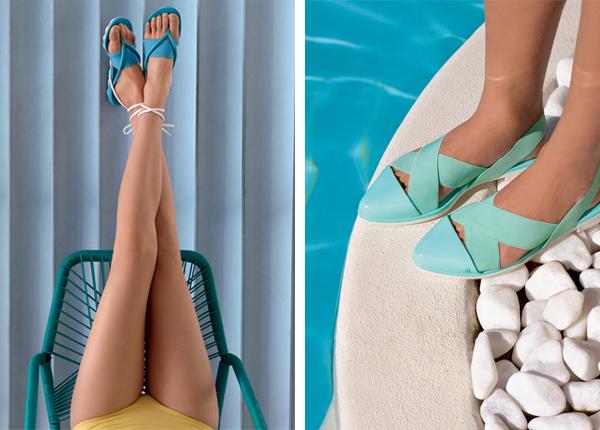 Melissa verão 2016 coleção Wanna Be Carioca sandália maiô com amarração e sapatilha bico fino