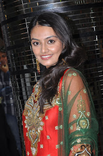 Nikitha Narayan Spotted in a Traditional Indian Designer wear Dress at Zooni Designer