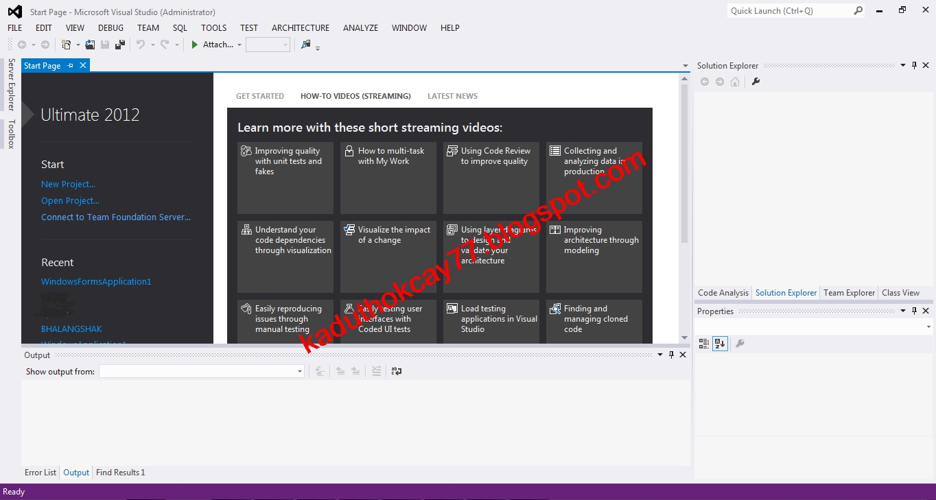 Visual Studio 2013 Кряк