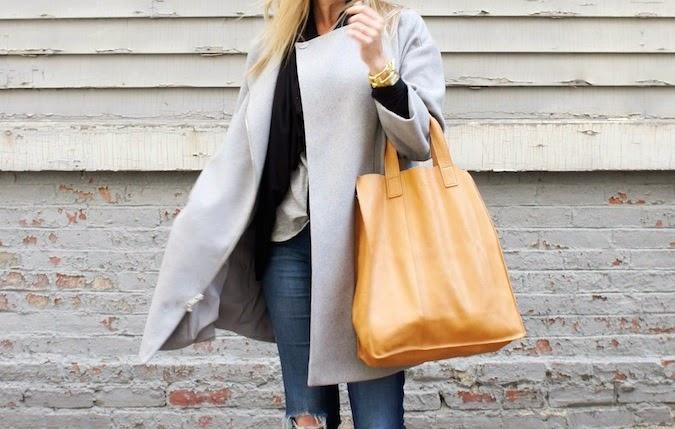 DKNY bracelet sleeve asymmetrical coat, Zappos