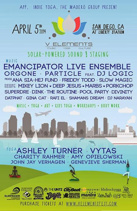 SanDiegoVille: V Elements Festival Returns To Liberty