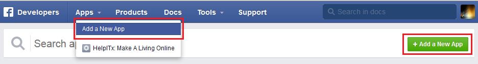 Facebook-App-For-Website