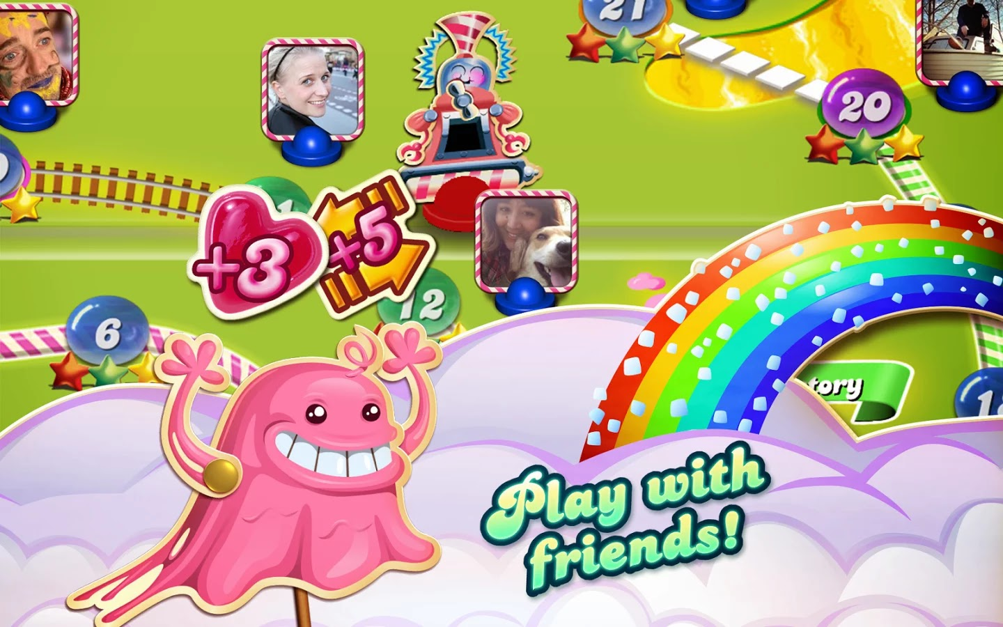 Candy Crush Saga v1.61.04 Mod