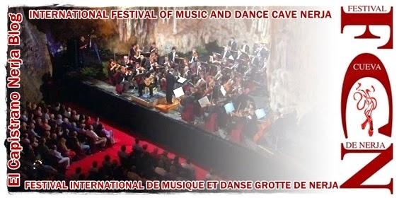 El Festival Internacional de Música y Danza de la Cueva de Nerja, es uno de los acontecimientos culturales más importantes  de la Costa del Sol