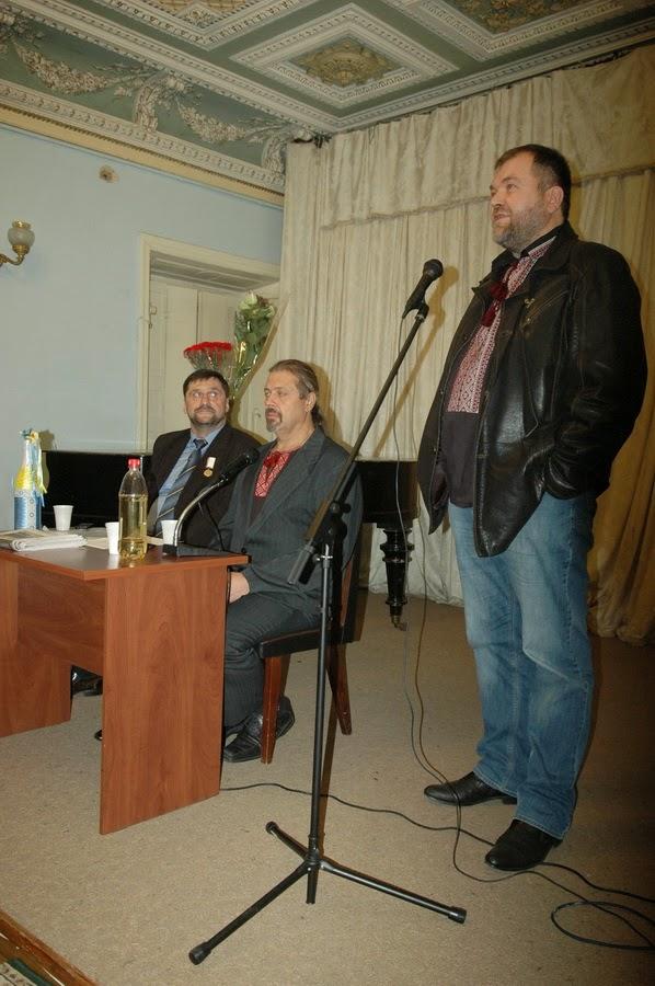 Фото Виталия Бабенко: писатель Борис Гуменюк