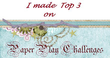 I made top 3 at Paperplay challenges