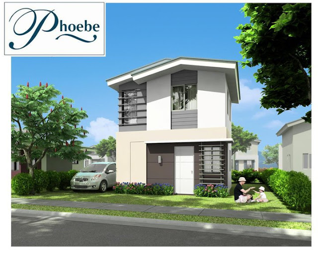 Phoebe house model of avida village iloilo by avida land corp of ayala land inc in brgy for Home design philippines small area