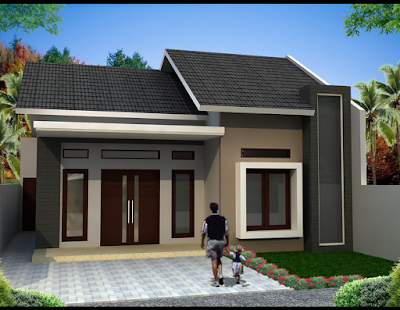 warna cat rumah minimalis type 36