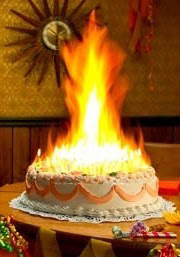 My Cakes Will Burn