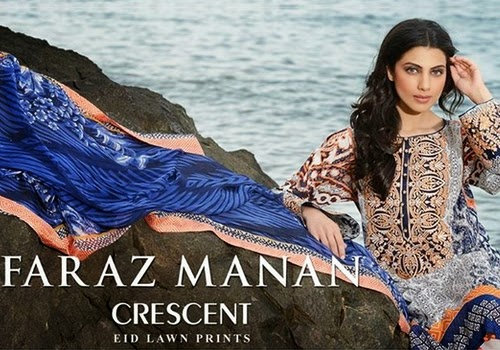 Crescent Lawn eid Prints 2014