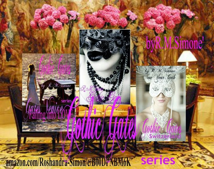 The Gothic Gate series click on Amazon Author page to buy