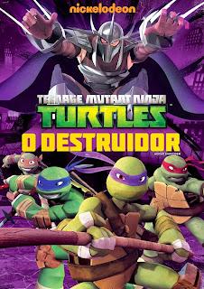 Download - Tartarugas Ninja: O Destruidor - DVDRip AVI + RMVB Dublado ( 2013 )