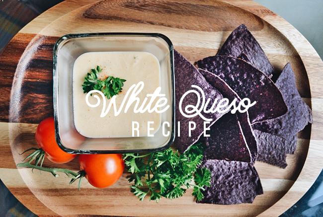 White Queso Cheese Dip Recipe