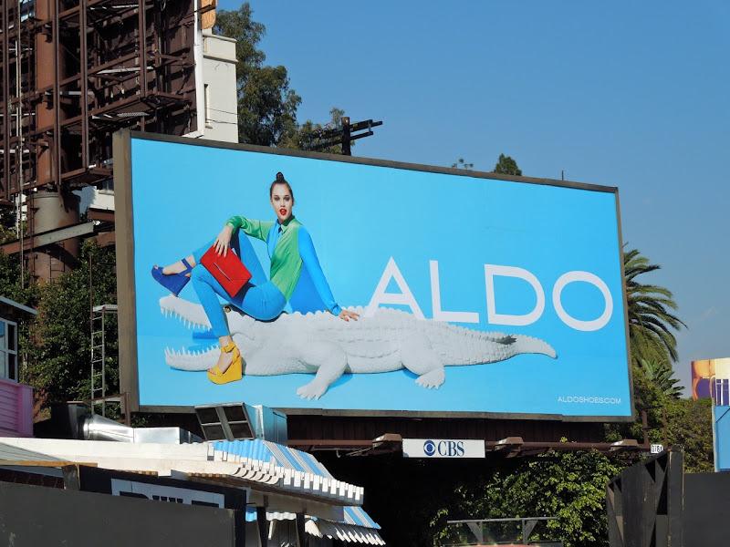 Aldo gator billboard