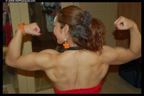 Li Cao Xin Female Muscle Bodybuilder Blog