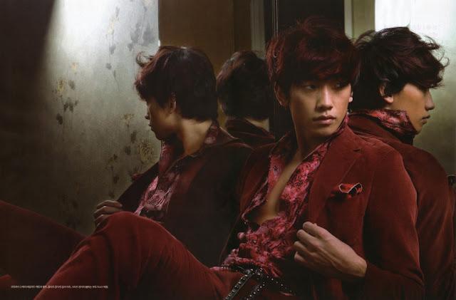 Kpop Idol Style: Rain