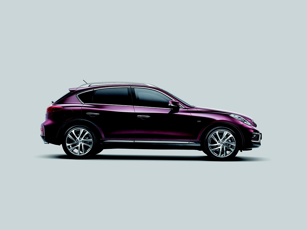 facelifted 2016 infiniti qx50 now based on china 39 s long wheelbase version debuts in ny carscoops. Black Bedroom Furniture Sets. Home Design Ideas