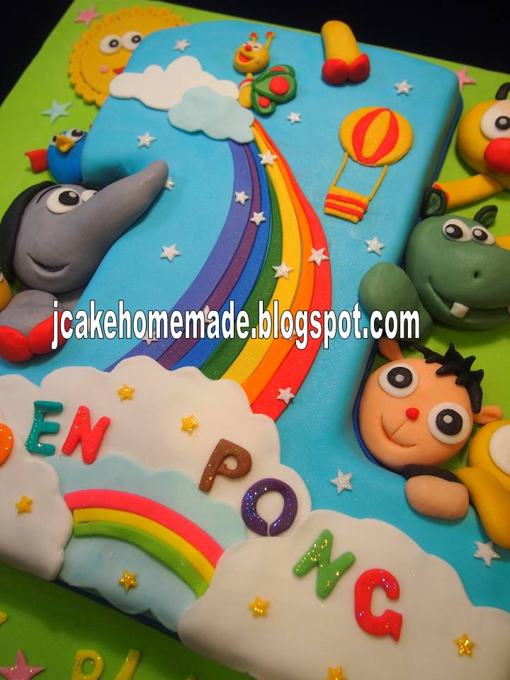Jcakehomemade: Baby TV birthday cake