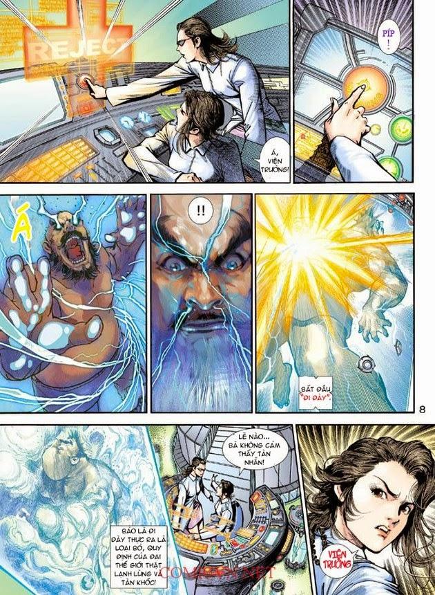 Thần Binh Khoa Huyễn Ký chap 2 - Trang 8
