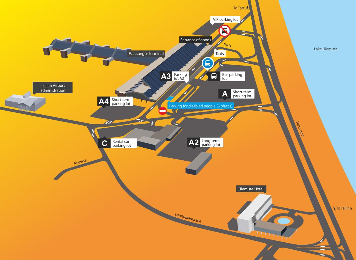 Как добраться от автовокзала в таллине до аэропорта