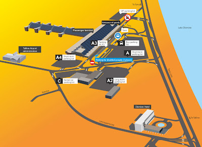 aeroport de Tallinn - Plan