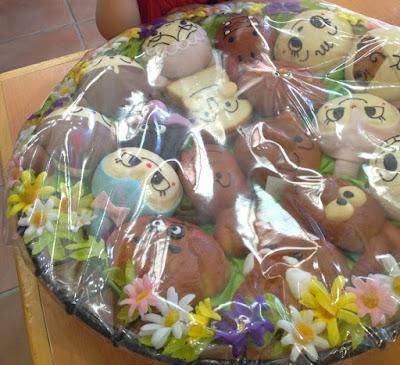 Anpanman Cakes Yokohama Japan