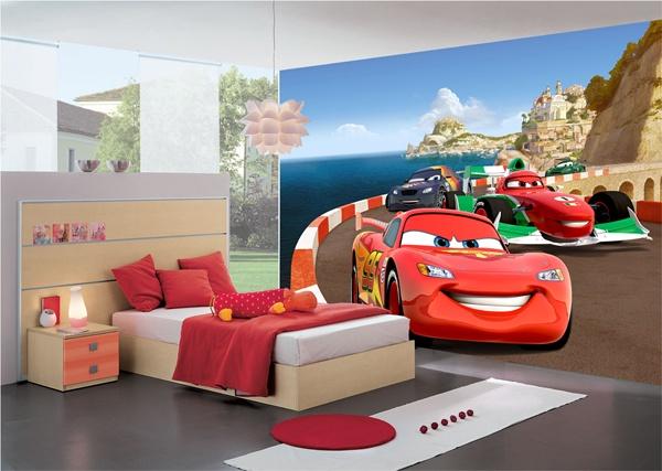 Papel pintado fotomurales disney - Habitaciones infantiles disney ...