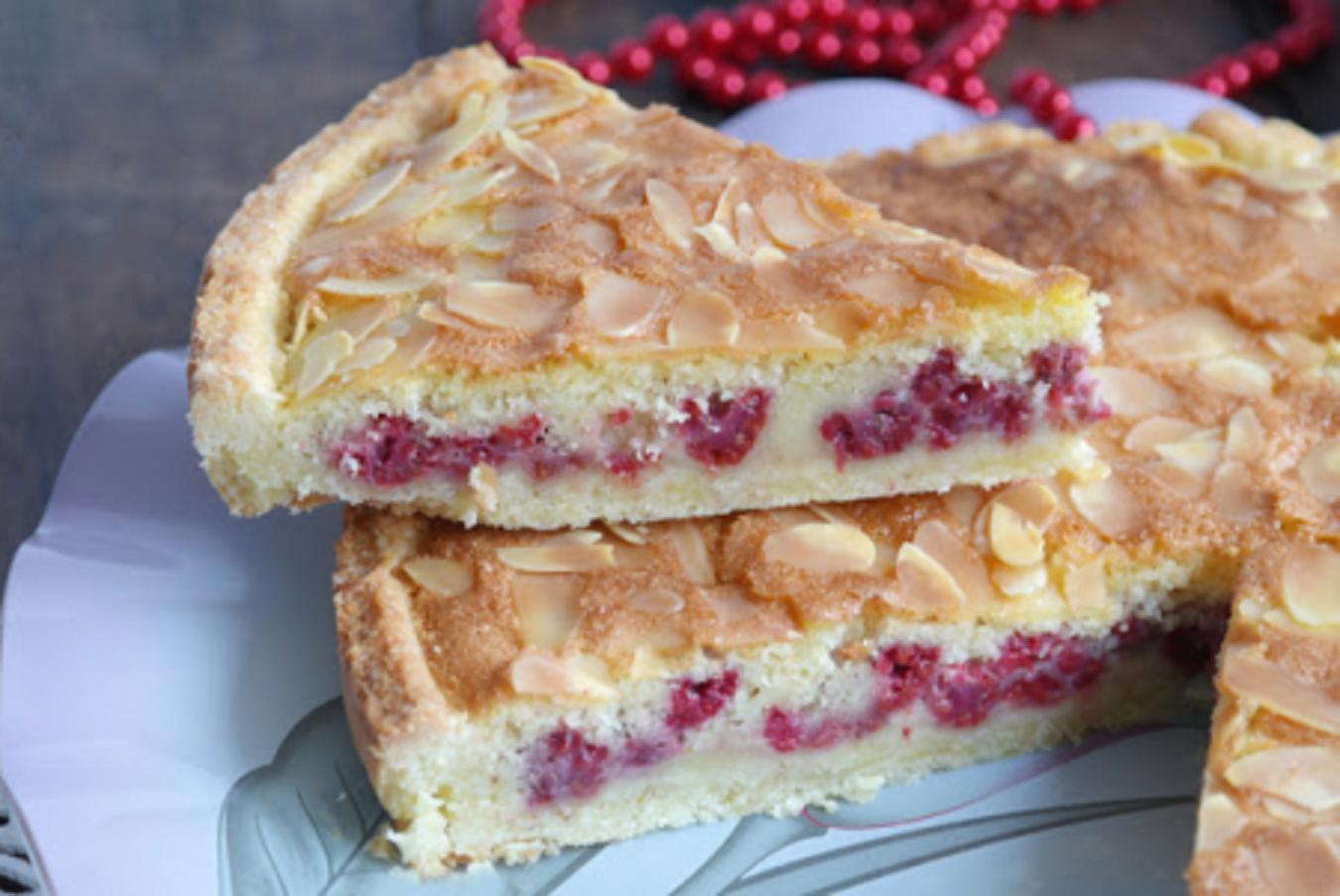 Пирог из замороженной малины рецепт пошагово в