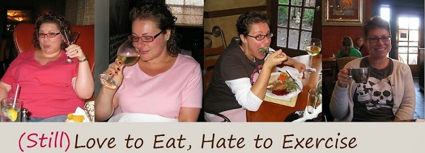 Love to Eat, Hate to Exercise