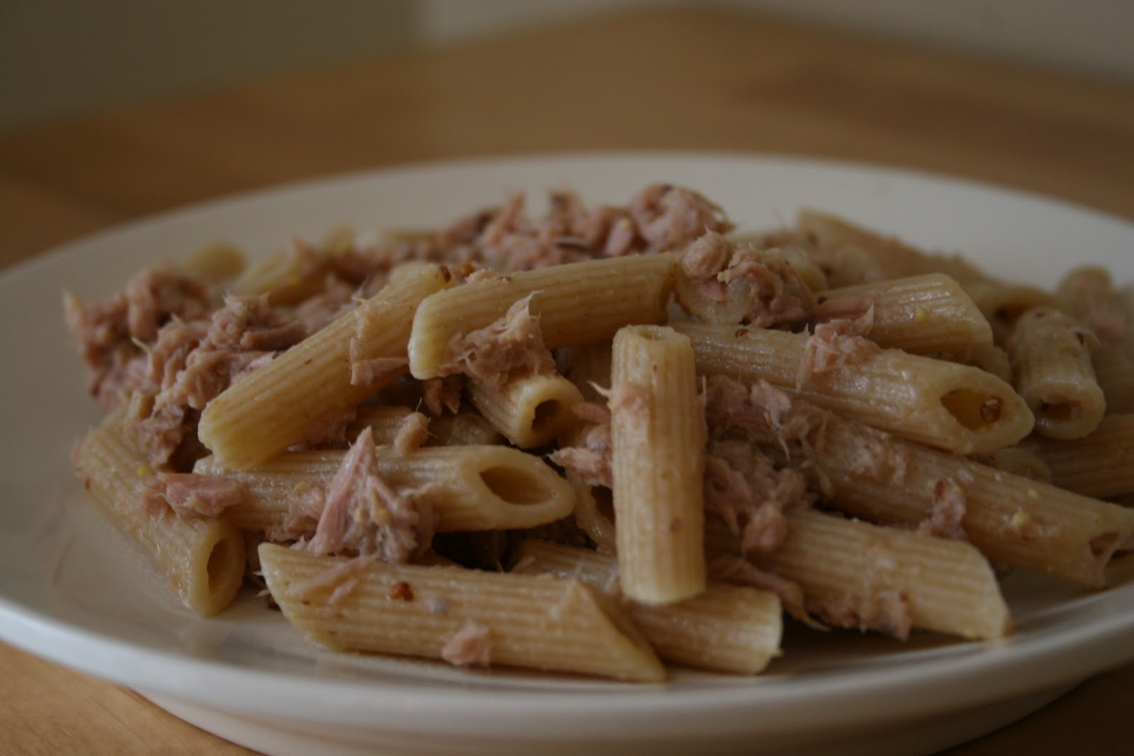 mustard penne with tuna and spicy tuna and spicy mustard penne tuna ...