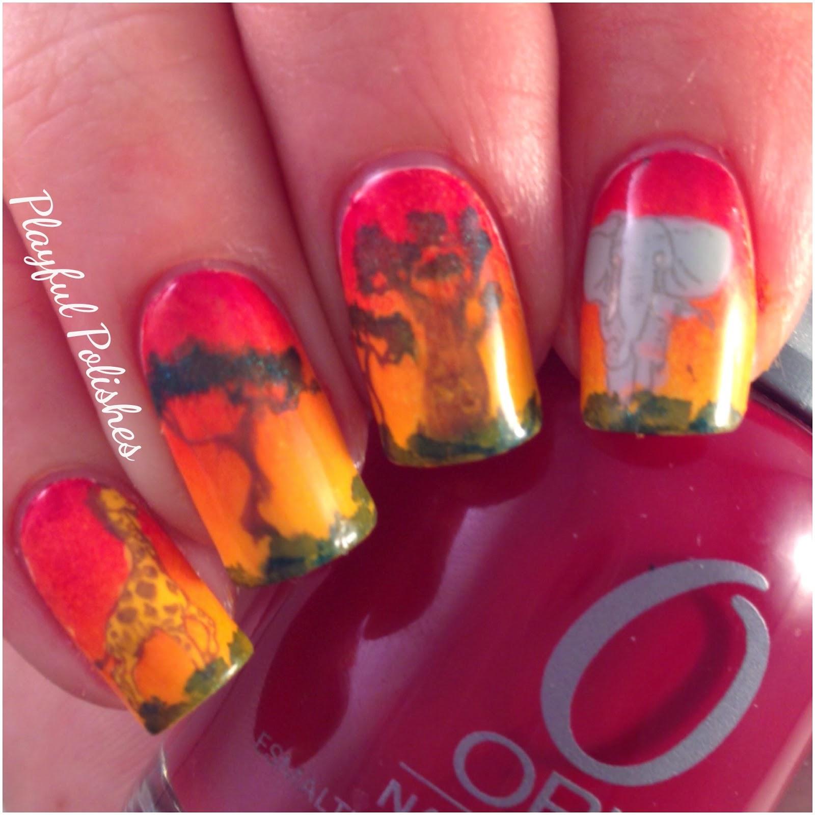 jungle red nail polish